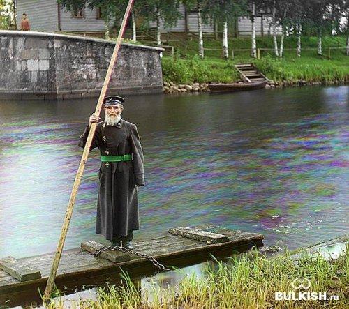 100 лет назад были сделаны цветные фотографии России