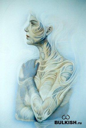 Аэрографические рисунки от художника Andrew Gonzalez