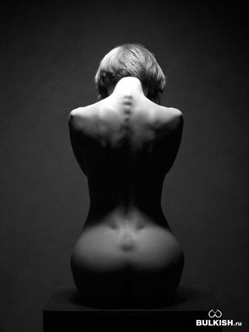 черно-белые фотографии девушек голых