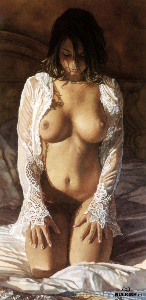 Акварельные работы от художника Стива Хэнкса (Steve Hanks)