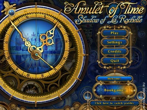 Amulet of Time Shadow of la Rochelle